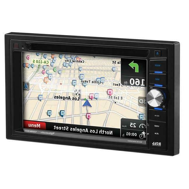 systems boss bv9384nv double din dvd player