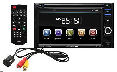 systems bvb9364rc double din touchscreen bluetooth dvd