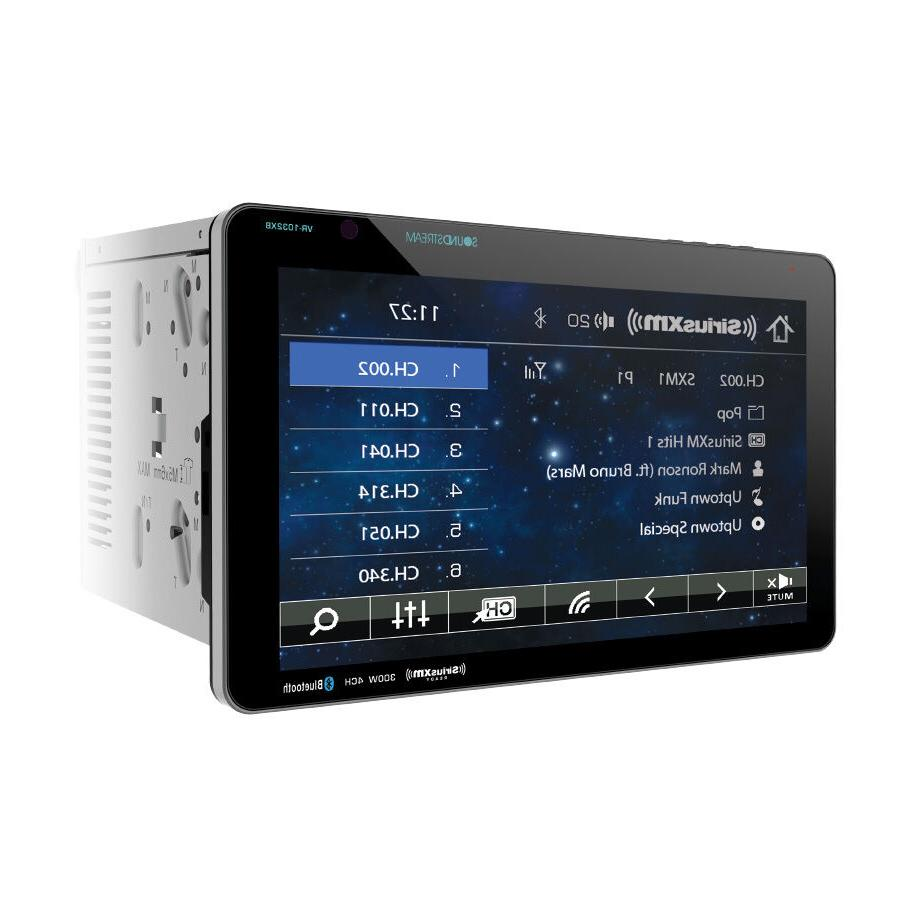 "Soundstream VR-1032XB 2 Din Detachable 10.3"" DVD/CD/SD Playe"