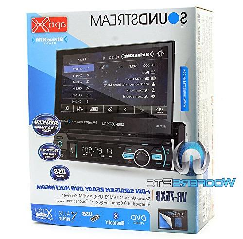 """Soundstream In-Dash 7"""" Screen DVD, CD/MP3, AM/FM with"""