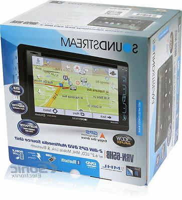 Soundstream 2-DIN Receiver Bluetooth/MobileLink