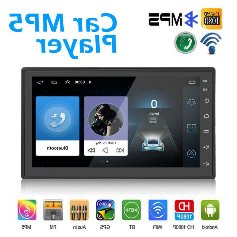 "JVC KW-V41BT 2 Din Bluetooth Car DVD Receiver 7"" Monitor w A"