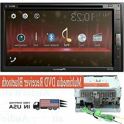 """NEW Pioneer AVH-310EX Double 2 Din 6.8"""" Touchscreen DVD/MP3/"""