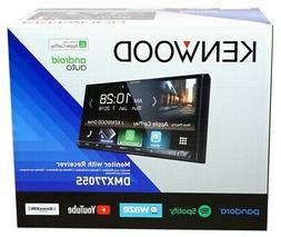 """NEW Kenwood DMX7705S Double 2 DIN 6.95"""" Media Player Android"""