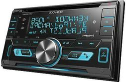 NEW Kenwood DPX503BT Double DIN CD Bluetooth SiriusXM Car St