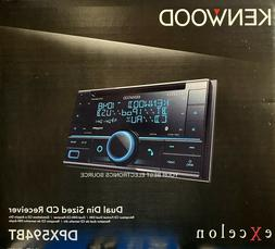 NEW Kenwood DPX594BT Double DIN Bluetooth In-Dash CD Car Ste