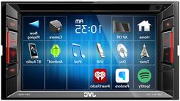 "New JVC KW-V140BT 6.2"" Touchscreen Double Din Bluetooth DVD"