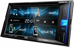"NEW JVC KW-V25BT 6.2"" Touchscreen Double Din BLUETOOTH MP3 D"