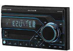 Planet Audio PB455RGB Car Stereo - Double Din, Bluetooth, MP