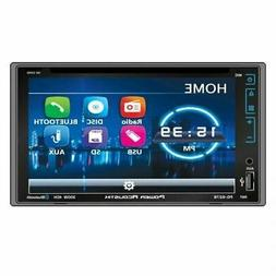"Power Acoustik PD-627B Double Din 6.2"" DVD Receiver+Bluetoot"
