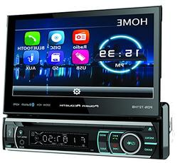 Power Acoustik PD-721B Single DIN Bluetooth DVD Car Stereo w