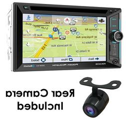 "Power Acoustik PDN-623B 6.2"" Double-Din CD/DVD Bluetooth GPS"