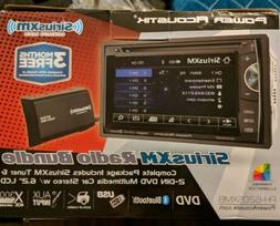 "Power Acoustik PH-620SXMB Double DIN CD/DVD Player 6.2"" LCD"