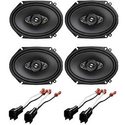 Pioneer A-Series TS-A6880F 4 Way, 6 in. x 8 in. Speaker Syst