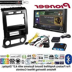Pioneer AVH-601EX Double Din Radio Install Kit with CD/DVD P