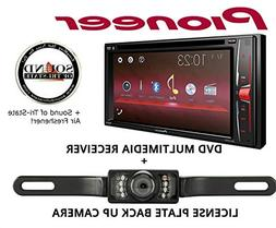 Pioneer AVH201EX Multimedia Receiver with License Plate Back