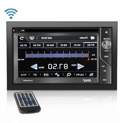 Pyle PLDN63BT Car DVD Player - 6.5 Touchscreen LCD - 16:9 -