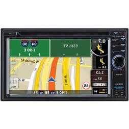 "PLANET AUDIO PNV9680 6.2"""" Double-DIN In-Dash Navigation Tou"
