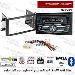 Volunteer Audio Power Acoustik PCD-52B Double Din Radio Inst