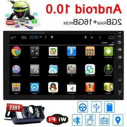 """Quad-Core 7"""" Double 2Din Android 4.4 Car Stereo No DVD Playe"""