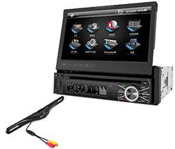 Power Acoustik Single Din AM/FM/DVD/BT 6.2-inch with Navigat