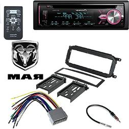 Pioneer Single DIN in-Dash CD Car Stereo Receiver w/Variable