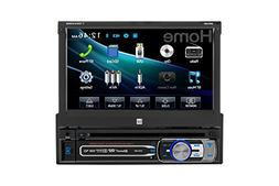 """7"""" Single-DIN In-Dash DVD Receiver with Motorized Touchscree"""