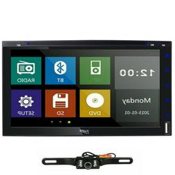 """7"""" Double 2Din Car Stereo Radio DVD Player In Dash Bluetooth"""