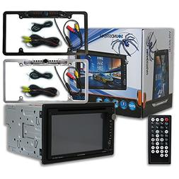 Soundstream VR-651B Car Double DIN 2DIN 6.5 DVD MP3 CD Stere