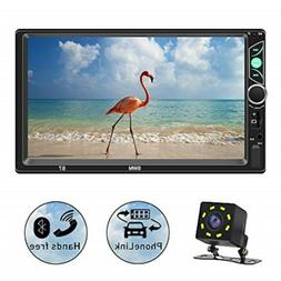 SPEEDTON 7 Inch Double Din Capacitive Touch Screen Car Stere