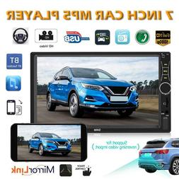 """SWM A7 Double 2 DIN 7"""" Touch Screen Car Stereo MP5 Player BT"""