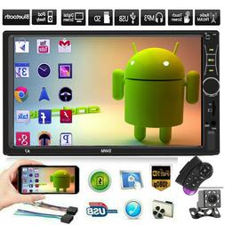 """SWM A7 Double 2 DIN Car Stereo 7"""" Touch Screen Bluetooth Rad"""