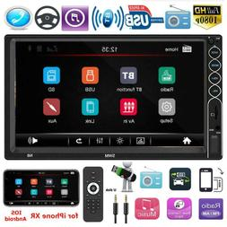 SWM N6 Double 2DIN 7 inch Touch Screen Car Stereo MP5 Player