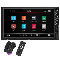 SWM N6 Double DIN Car Stereo MP5 Player 7 inch TFT Touch BT