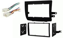 Toyota Sienna 2004-2010 Double DIN Stereo Dash Kit and Radio