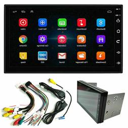 US  7'' Double 2 DIN Android 9.1 Car Stereo FM Radio GPS Nav