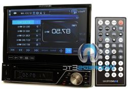 Soundstream VIR-7830B Single-Din Bluetooth Car Stereo DVD Pl
