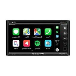 Soundstream VRCP65 Double Din LCD Apple Carplay Phonelink Au