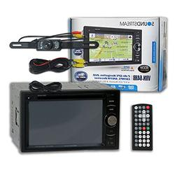 "Soundstream VRN-64HB Double DIN 2DIN 6.2"" GPS Navigation DVD"