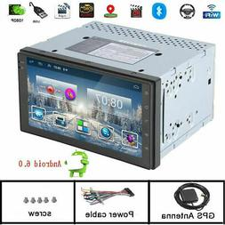 "6.2"" Double 2 DIN Car Radio Stereo HD DVD Player GPS Navigat"