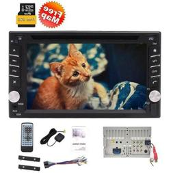 """WinCE6.2"""" Double Din In Dash Car Stereo GPS with Maps USB/SD"""