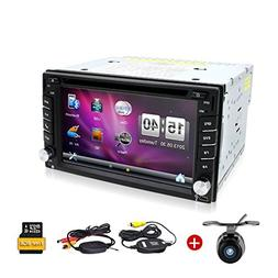 Wireless Backup Camera included!6.2 Inch Double DIN Car Ster