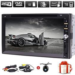 "Free Wireless Backup Camera & Remote Control+ 7"" Wince Doubl"